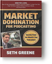 """Dave Swerdlick - Founder of Uptown Podcast is featured in the book """"Market Domination for Podcasting"""